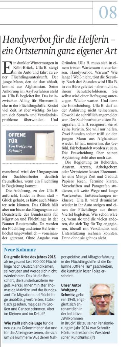 Kölner Stadt-Anzeiger - Kolumne